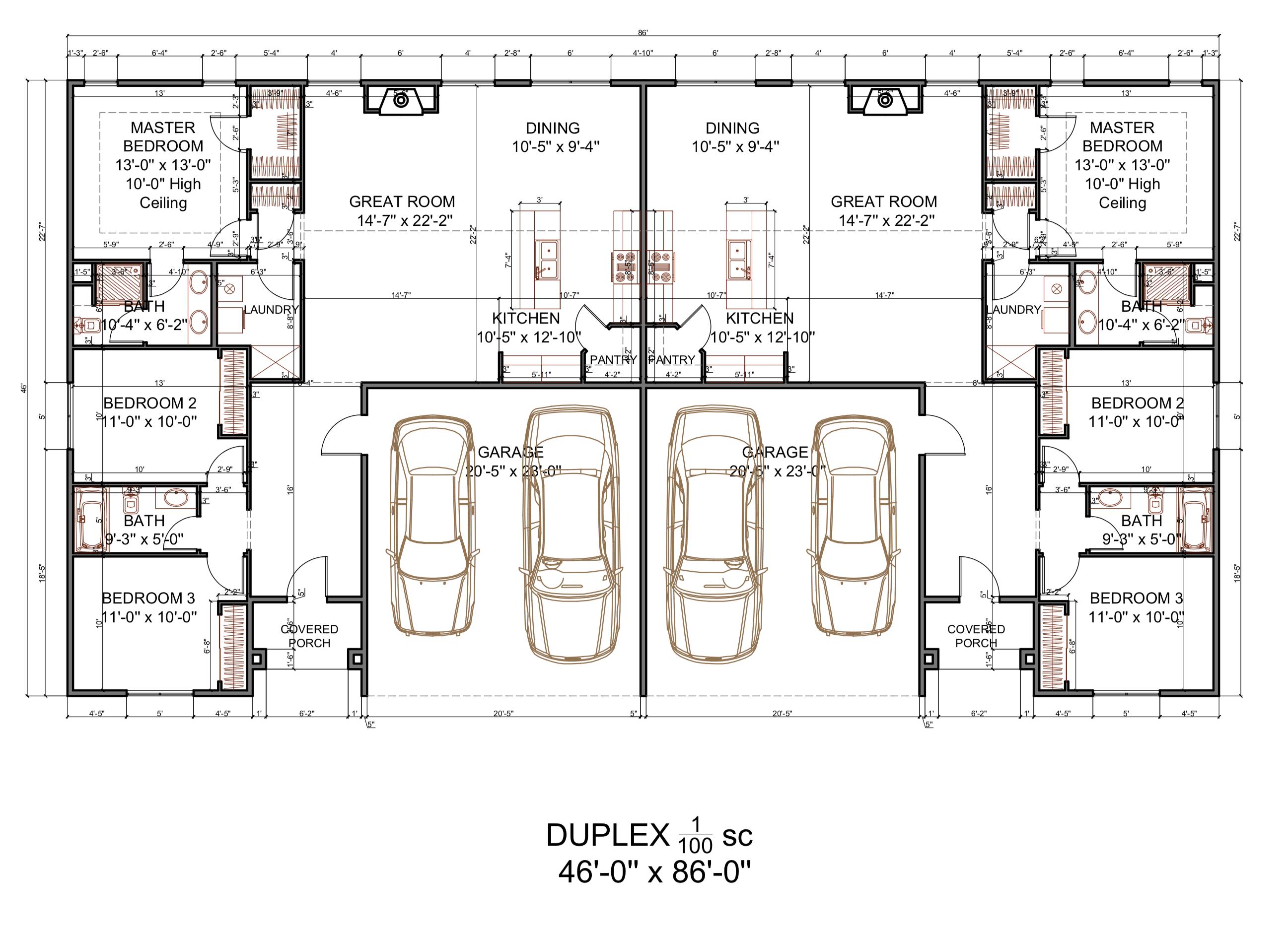 Blueprints Duplex Eben Ezer Org